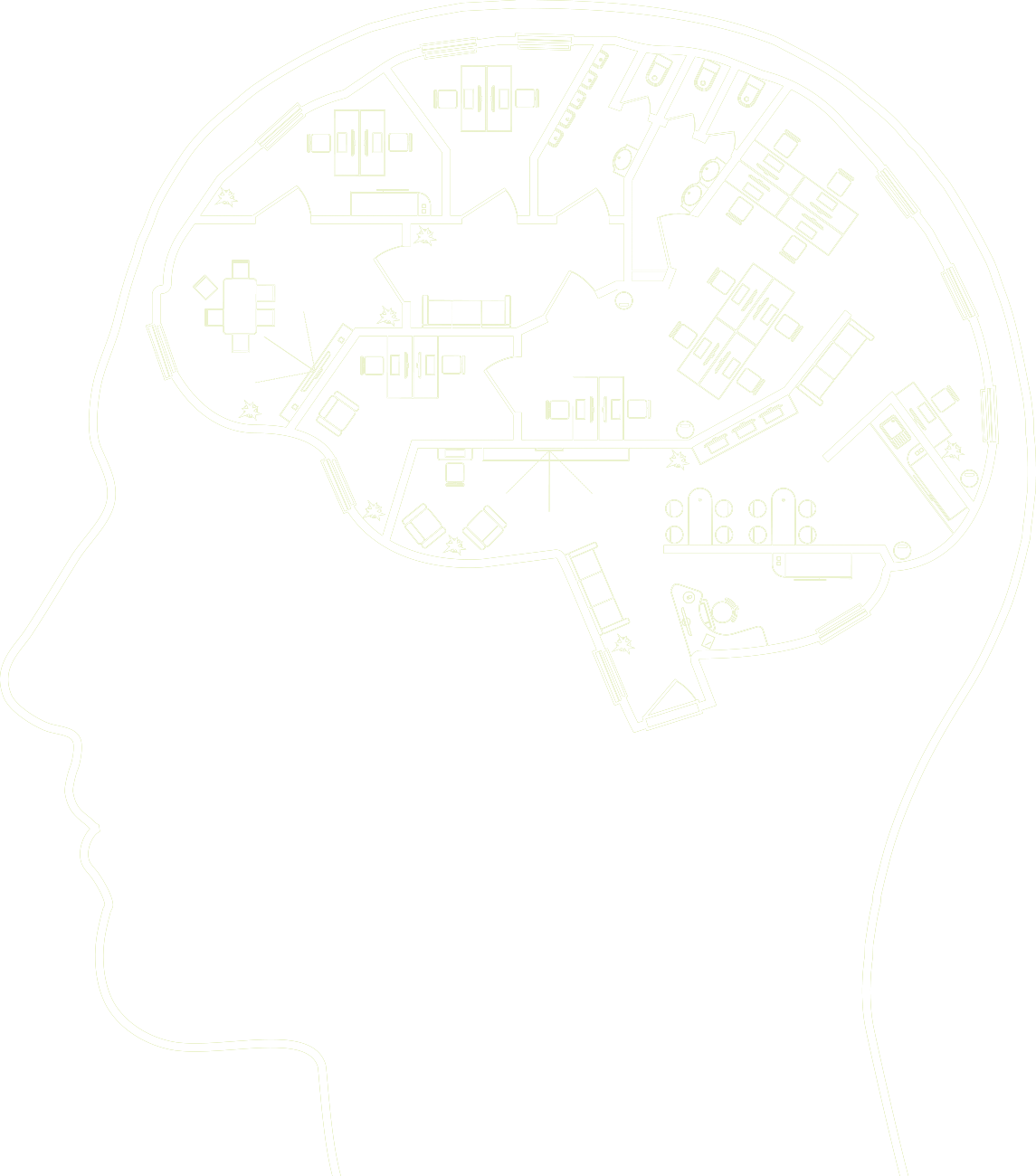 Insights normal image - white brain
