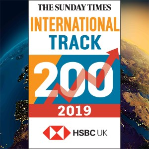 "Instant ranked at No 28 in the ""The Sunday Times HSBC International Track 200"""